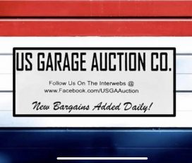 US GARAGE AUCTION – 25% OFF for BraveHeroes Members